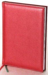Ежедневник Престиж в ярко-красном цвете