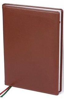 Ежедневник Софт в коричневом цвете