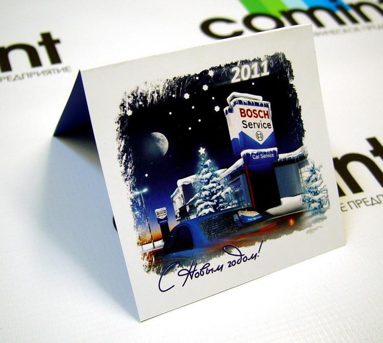 Печать открытки из фотографии